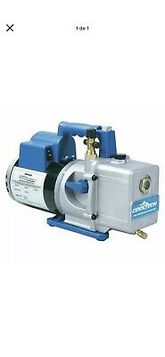 Robinair 15600 Pump,1/2 Hp,35 Microns End Vac.