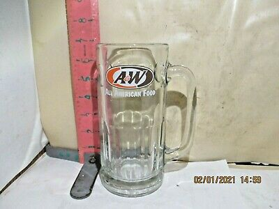 A&W All American Food 7 Inch Tall Root Beer Mug - No Damage!