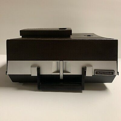 Sears Slide Projector Model 9884 Solid State 837.98840 Manual Rotary Trays Works