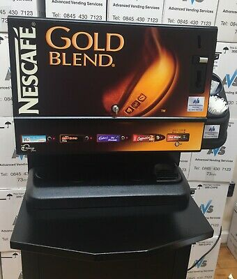 Minicup Flex in cup vending machine 73mm incup drinks Coin operated 4 selection