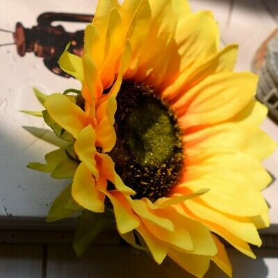 5PCS Artificial Sunflower Heads, 5 Fake Simulation Sunflower Head For DIY Craft