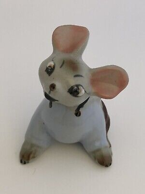Early Vintage Hagen Renaker Mouse Figurine HR Country Mouse ? Estate Find LOOK