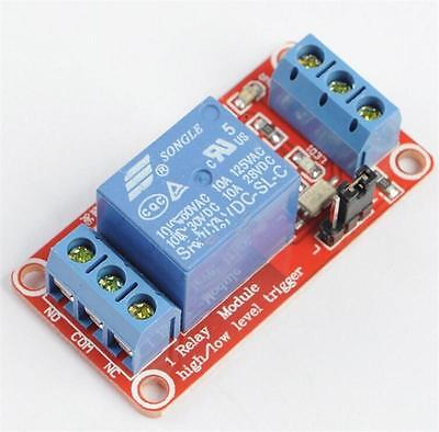 12V 1 Channel Module With Optocoupler Isolation High and Low Level Trigg C LTJy
