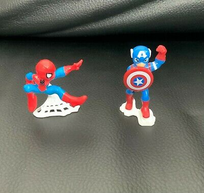 Kinder Surprise Captain America Spider-Man Figurines Marvel Collection 2020