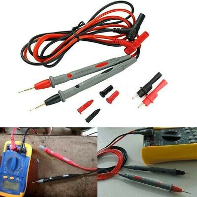 Red and black Test probe 20A Lead For Digital Multimeter Needle Universal Useful