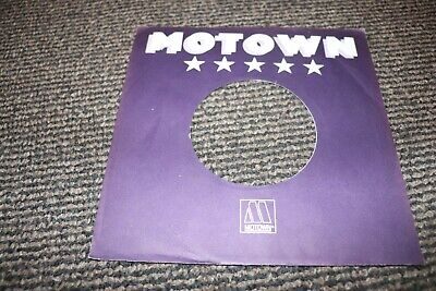 "Original Tamla Motown Blue record company sleeve only 7"" ~ Used"