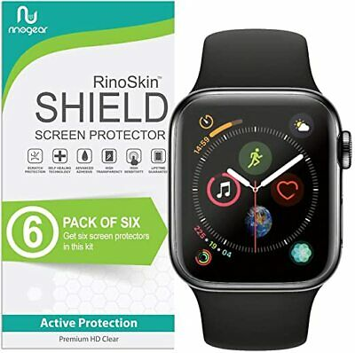 6-Pack Screen Protector TPU Film for Apple Watch Series 6, 5, 4, SE 44mm