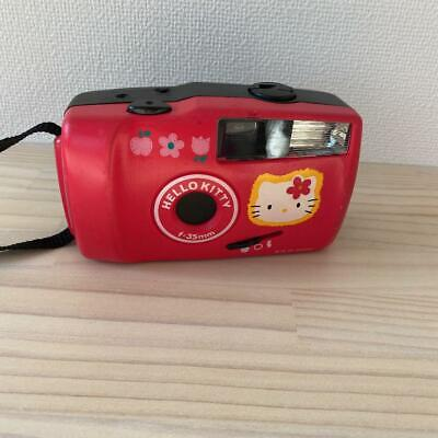 Rare Vintage Hello Kitty 35 mm Film Flash Camera Kit with Film and Picture Frame Sanrio