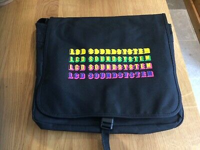 "Cool LCD SOUNDSYSTEM 12 "" vinyl record  laptop shoulder bag free P&P"