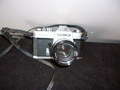 Yashic Tl Electro X Camera With 50Mm Lens