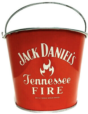 Jack Daniels Tennessee Fire Ice Bucket    Great for Man Cave, Home Bar or BBQ