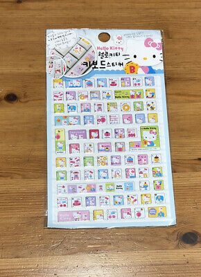 2008 Hello Kitty Sanrio Keyboard Sticker Sheet For Sale In Korea Only Sealed