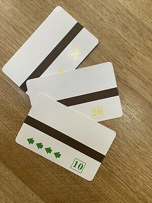 AMPY ELECTRIC CARD// 10 UNIT//CREDIT TOKEN//CODE A //25 CARDS// VALUE 250