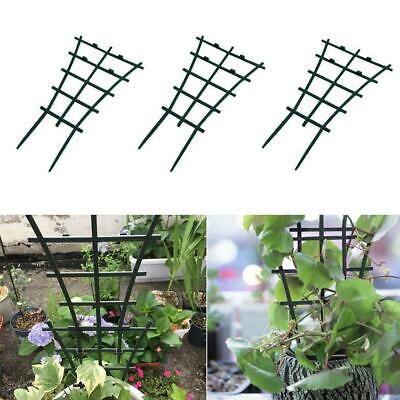 2pcs Plant Support Rack Garden Trellis Flower Vines Climbing Stand Frame DIY Set