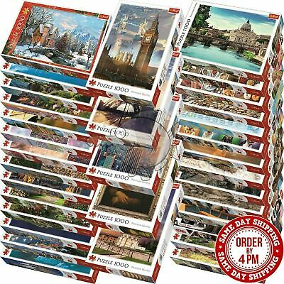 1000 Piece Jigsaw Puzzle Animals Landscapes Cities funny games L2C1