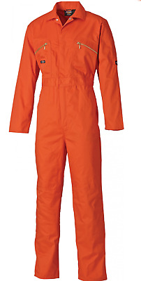Mens Workwear BC306 Details about  /Dickies Redhawk Zip Front Coverall Tall