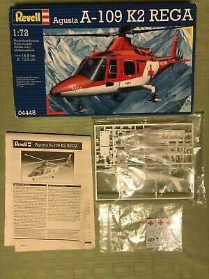 Agusta A109K2 Rescue Helicopter 1//72 scale skill 3 Revell plastic model kit#4941