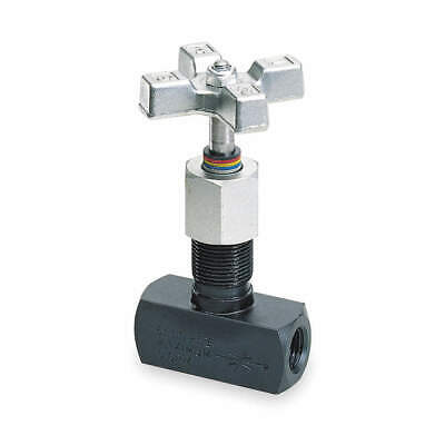 """Details about  /Parker Metering Valve Inline 316 Stainless Steel 1//8/"""" Comp 2A-NML-V-SS-K"""