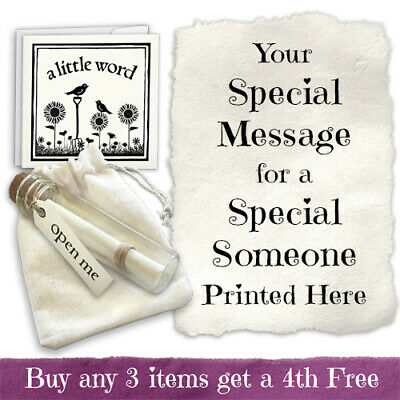 Personalised Isolation Message in a bottle Missing You gift message Hug Gift