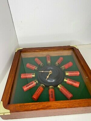 """Details about  /Brassen Wood Wall Clock 16/"""" PIRATES Dial Nautical Home Decor /& Office"""