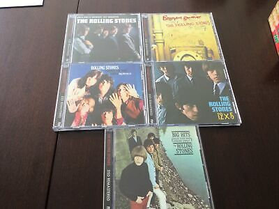 The Rolling Stones - 5x DSD Remastered CD Albums LOT