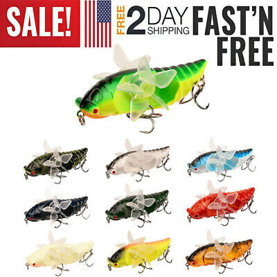 Details about  /20x Minnow Crankbait Blank Unpainted Fishing Lures DIY Bodies Swimbaits Topwater