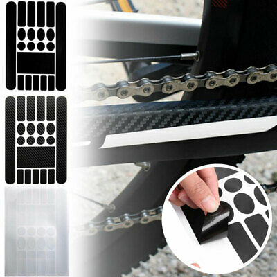 MTB Bike Chain Stay/&Frame Scratch Protector Bicycle Stickers Protective D4J0