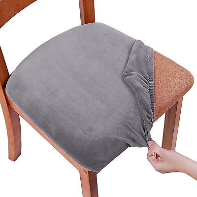 Smiry Stretch Chair Covers For Dining, Dining Room Seat Covers Uk