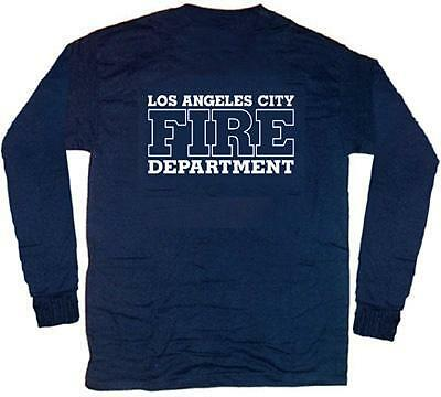 Los Angeles City Fire Dept. T-shirt  2XL  Long Sleeves