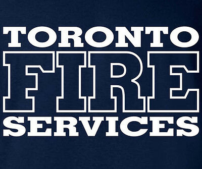Toronto Fire Services Firefighter Canada T-shirt   M