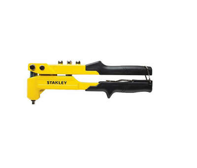 STANLEY Heavy Duty 2,3,4,5mm Steel/Stainless Riveter Rivet Gun Tool STA6MR100