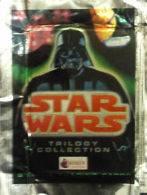 STAR WARS TRILOGY COLLECTION BOOSTER PACK x2