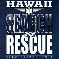 Hawaii Search and Rescue T-shirt  - Size Large