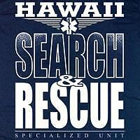 Hawaii Search and Rescue T-shirt  - Size 3XL