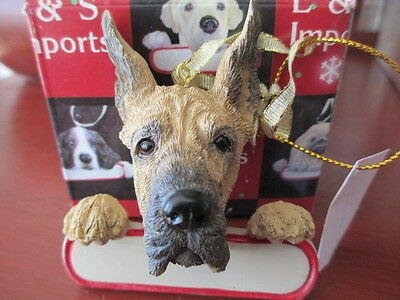 Great Dane Ornament # 66