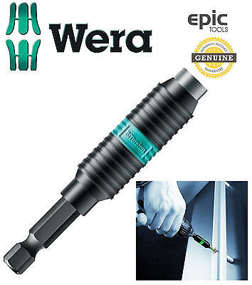 WERA New Rapidaptor Bi-Torsion 75mm Long Screwdriver Magnetic Bit Holder,053923