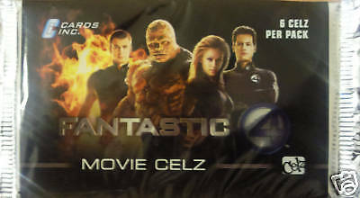 The Fantastic 4 Movie Celz Trading Cards Booster Pack