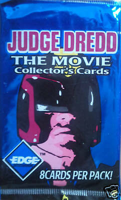 Judge Dread The Movie Trading Cards Booster Pack