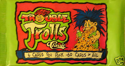 Trouble Trolls Trading Card Booster Pack