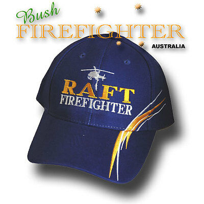 RAFT Firefighter embroidered hat.