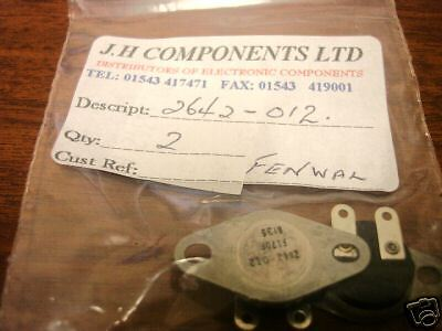 80-01    Fenwal Thermostat Low Profile