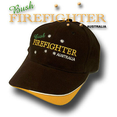 Bush Firefighter embroidered hat.