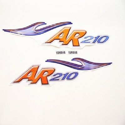 YAMAHA AR 210 JET BOAT DECALS (Set of 2) decal