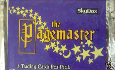 The Pagemaster Trading Cards Booster Pack