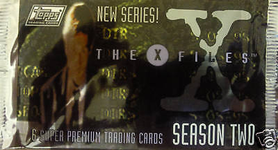 X-Files Season Two Trading Cards Booster Pack