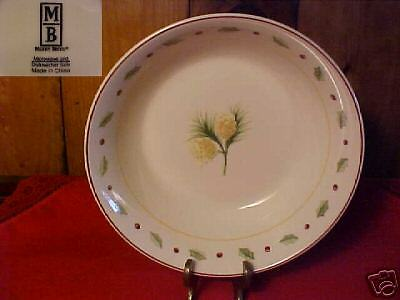 Merry Brite Holiday  Home Soup/Cereal Bowl 6 1/2""