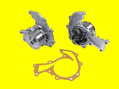 NPW Engine Cooling Water Pump w// Metal Impeller /& Gasket nEw for Honda for Acura