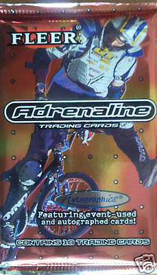 Adrenaline Extreme Sports Trading Card Booster Pack