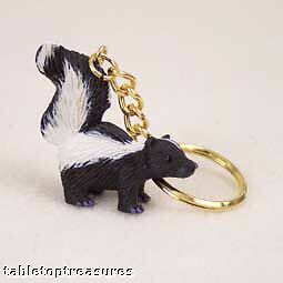 skunk key chain great gift for  new pet , home