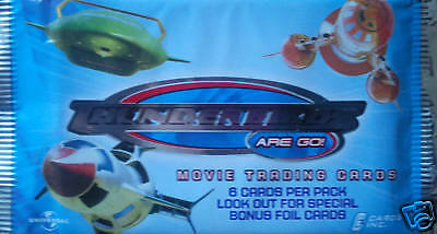 Thunderbirds Movie Trading Cards Booster Pack